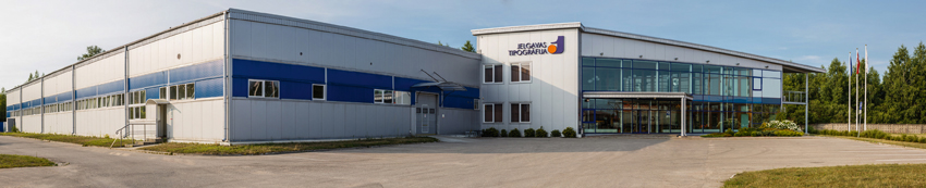 Printing house JELGAVAS TIPOGRĀFIJA fully completes its move to the new production unit at Langervaldes Street.
